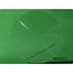 Lentille diamètre 56.4 mm focale 72 mm