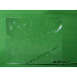Lentille de fresnel 150x90 mm focale 185mm