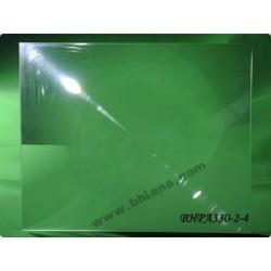 Lentille de fresnel 395x395 mm focale 330 mm