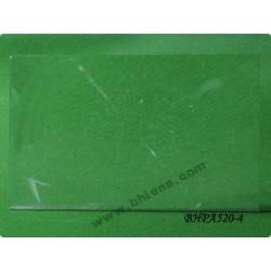 Lentille de fresnel 420x260 mm focale 520 mm