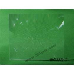 Lentille de fresnel 395x320 mm focale 550 mm