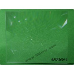 Lentille de fresnel 431x401 mm focale 630 mm