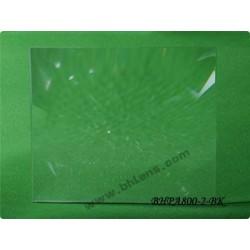 Lentille de fresnel 380x315 mm focale 800 mm