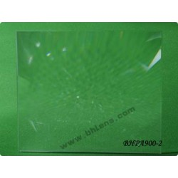 Lentille de fresnel 430x380 mm focale 900 mm
